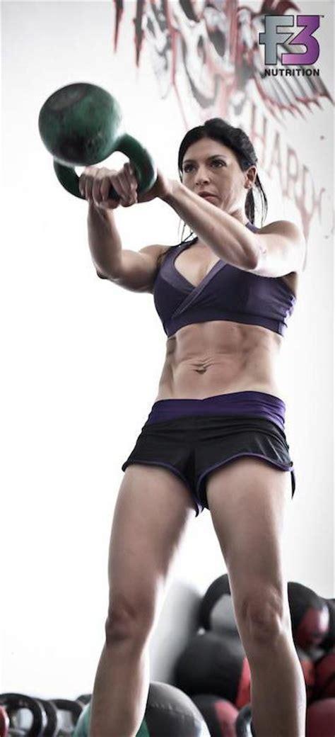 kettlebell swings for abs lauren brooks kettlebell abs exercise pinterest