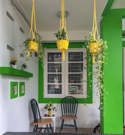 contoh warna cat  teras rumah dekorhom
