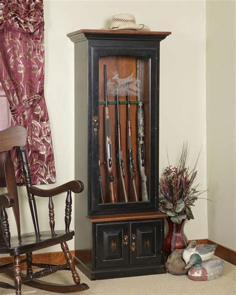 wood gun cabinet 1000 ideas about gun cabinets on wood gun