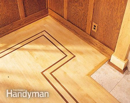 How To Lay Wood Flooring by How To Lay Hardwood Floor With A Contrasting Border The