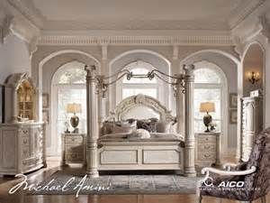 Monte Carlo Canopy Bedroom Set Monte Carlo Ii Silver Pearl Poster Canopy Bedroom Sets By