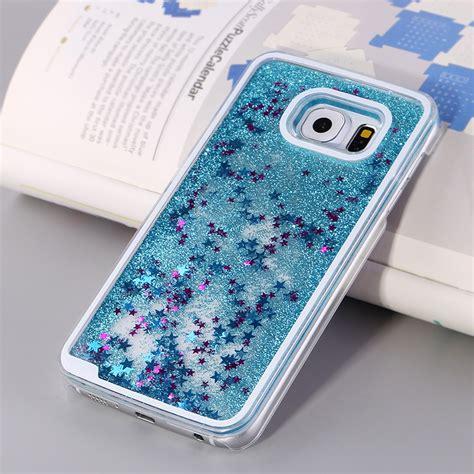 wholesale galaxy  glitter shake shake star dust case blue