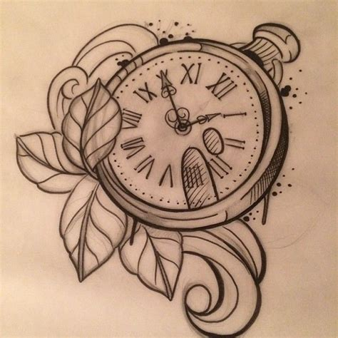 tattoo inspiration para tatuar pinterest clock
