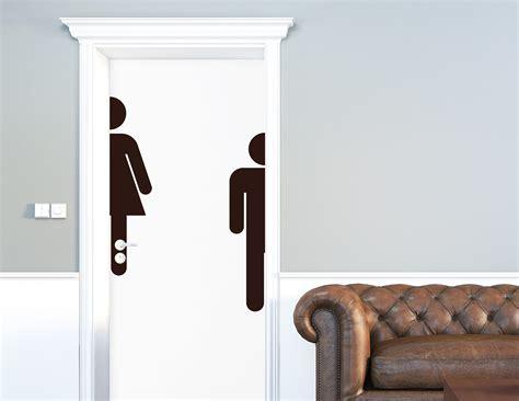 Klebebuchstaben Wc by Wc Piktogramm Xl Aufkleber F 252 R Die T 252 R In Bad Toilette