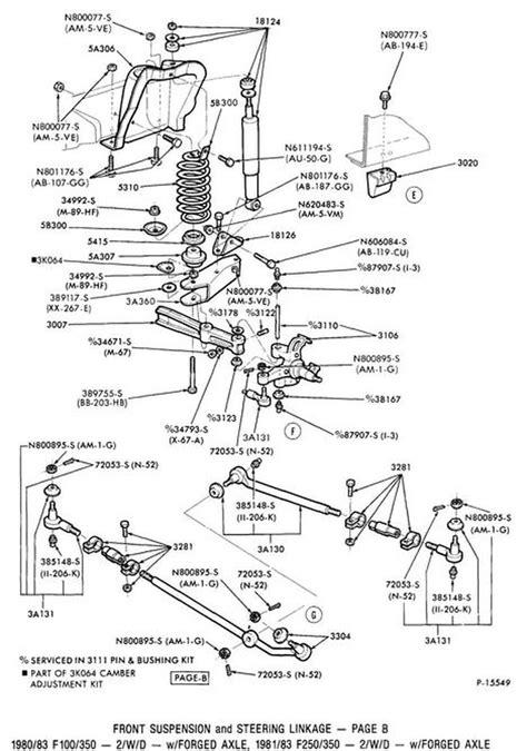 33 F350 Front Suspension Diagram - Wiring Diagram Database