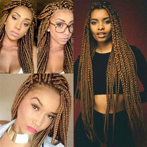 synthetic box braids that are not heavy 25 best ideas about box braid wig on pinterest