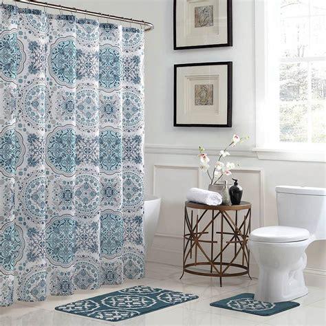 bath fusion caroline geometric      bath rug