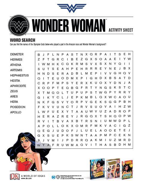 printable heroes guide 328 best wonder woman printables images on pinterest