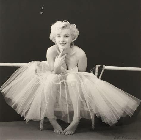 marilyn monroe the ballerina sitting 1954 paddle8 marilyn monroe white dress from the ballerina