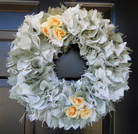 burlap wreath how to wreaths pinterest burlap wreath fun ideas pinterest