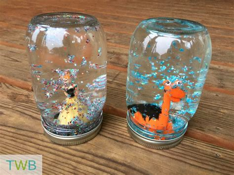 Handmade Snow Globes - snow globe craft the write balance