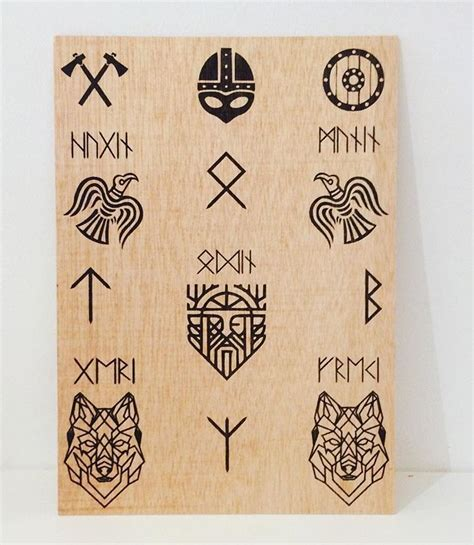 small viking tattoos pin by on random runic pics
