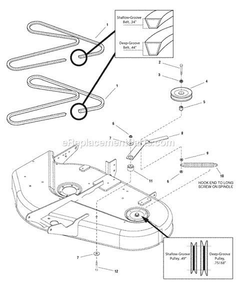 simplicity mower belt diagram simplicity mower deck belt diagram on kohler 21 hp