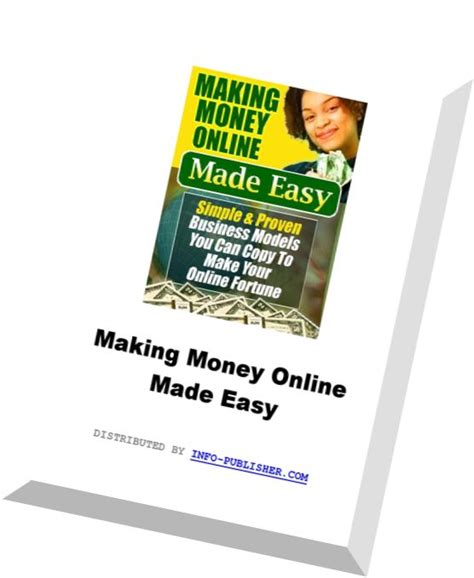 Making Money Online Easy - download making money online made easy pdf magazine