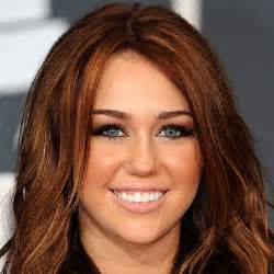 auburn haired actresses red haired celebrities auburn hair and miley cyrus
