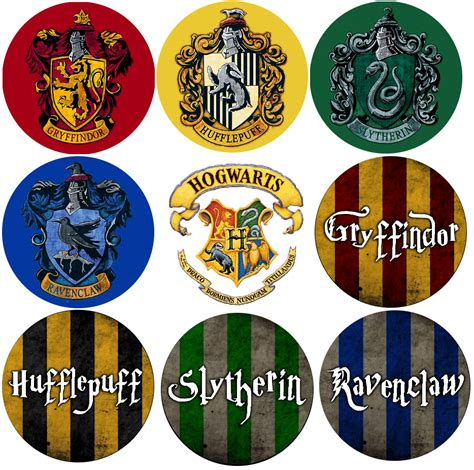 hogwarts house colors show your hogwarts house pride with these potteriffic