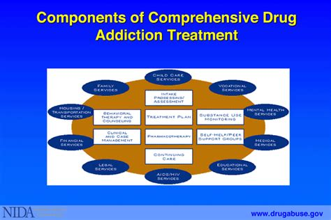 Detox Substance Abuse Treatment by 5 Components Of Comprehensive Addiction Treatment
