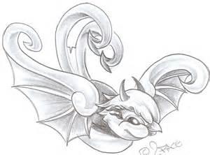 Swallow evil tattoo design by 2face tattoo on deviantart