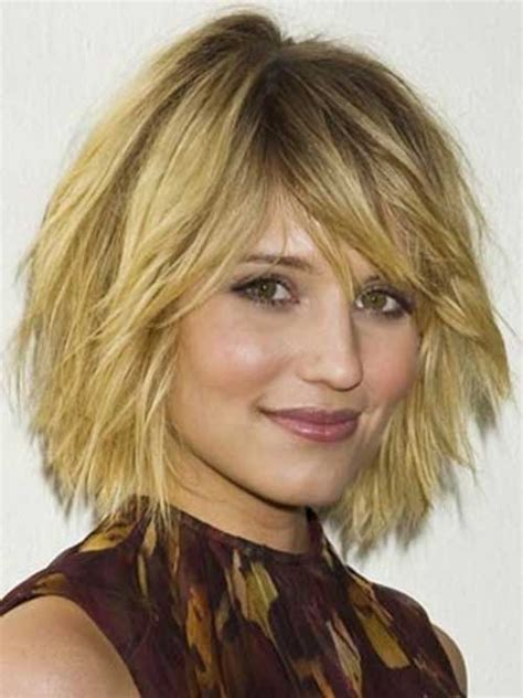chin length curly layered haircut 15 unique chin length layered bob short hairstyles 2016