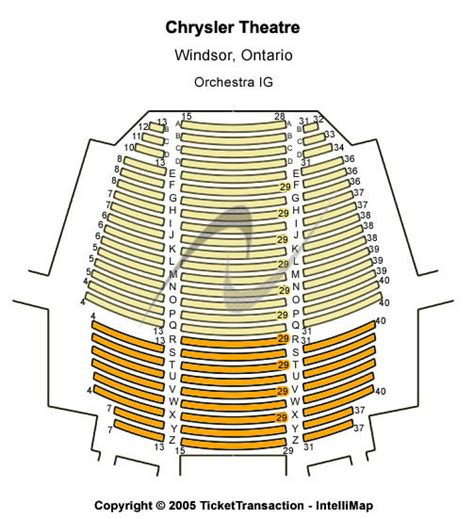 chrysler seating plan chrysler theatre tickets on chrysler theatre
