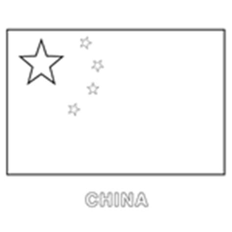 Colouring In Templates Flags Of The World China Flag Template