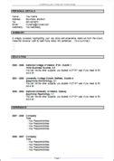 cv template ireland cv templates free ireland resume cv templates free