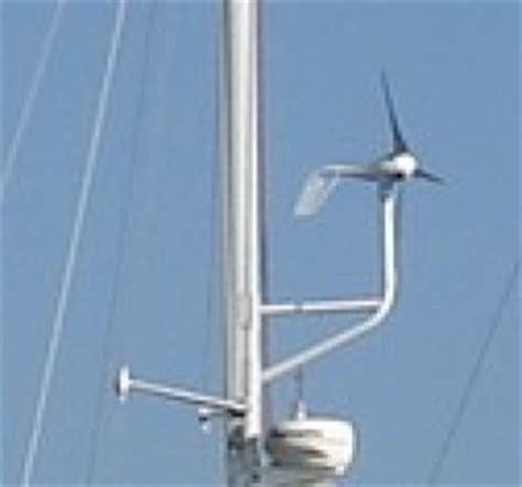 sailboat generator wind generator mounting cruisers sailing forums