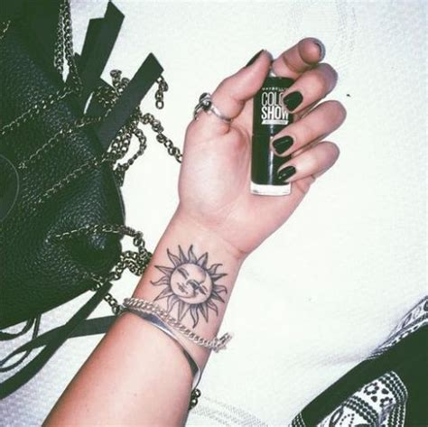 sun and moon tattoo small 22 small sun ideas for styleoholic
