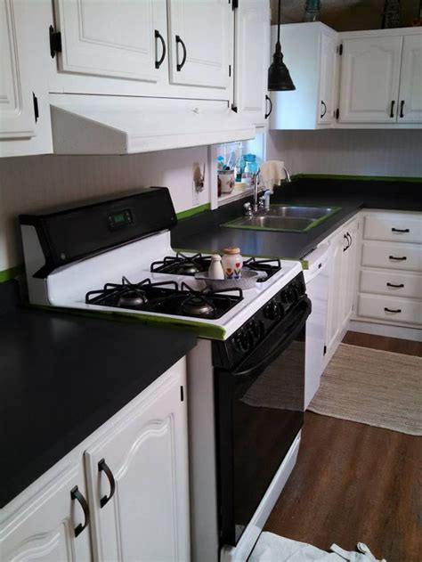 How To Paint A Countertop To Look Like Granite by Painting Kitchen Counter Tops To Look Like Granite