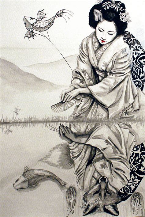 Asian Drawing