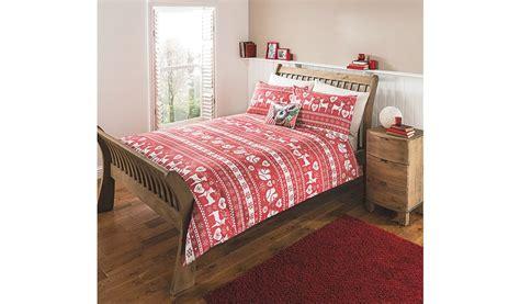 scandinavian bedding george home red scandinavian duvet set bedding george