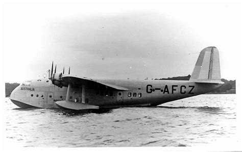 flying boat to australia short s 30 empire or c class flying boat g afcz
