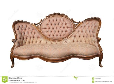 old couches for free antique luxury pink fabric sofa isolated stock image
