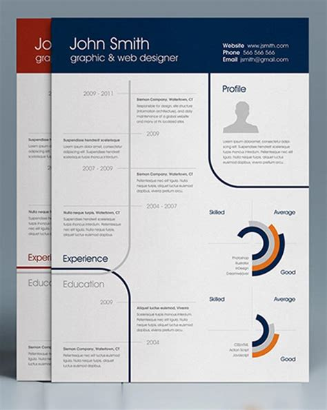 free infographic resume templates 25 infographic resume templates free premium collection