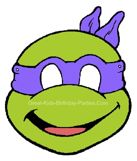 pattern for ninja turtle face image gallery ninja turtle face template