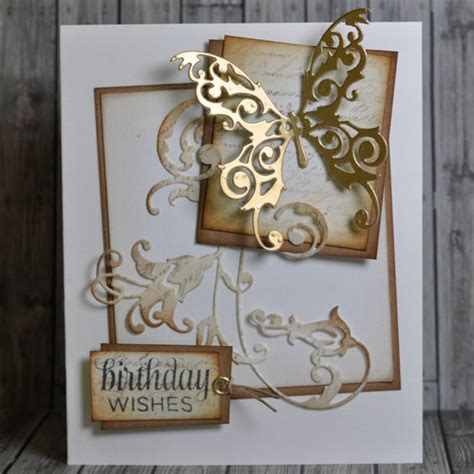 card die cuts how to die cut a butterfly birthday card hobbycraft