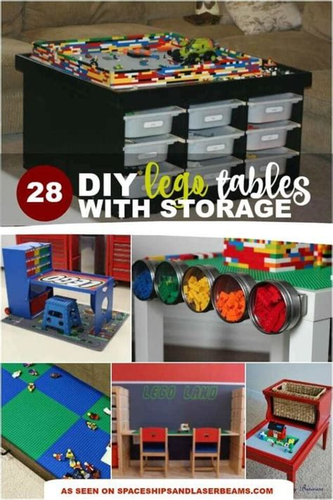 your own lego table with storage 28 lego tables with storage we spaceships and laser