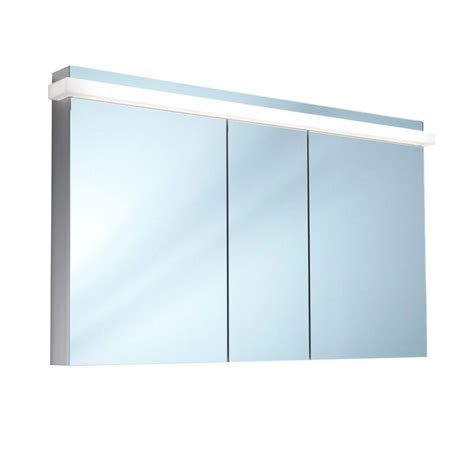 schneider mirrored bathroom cabinet schneider taikaline 3 door 1300mm mirror cabinet door