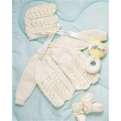 free newborn baby layette knitting patterns free free lace stitch baby cardigan knitting patterns