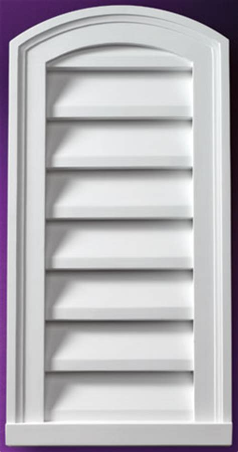 fypon gable vents fypon eyebrow louvers and gable vents accent building