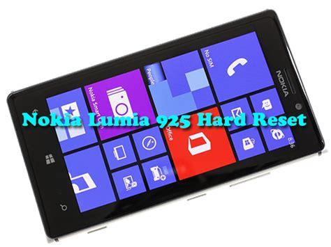 resetting a nokia lumia 925 nokia lumia 925 hard reset windows phone destek