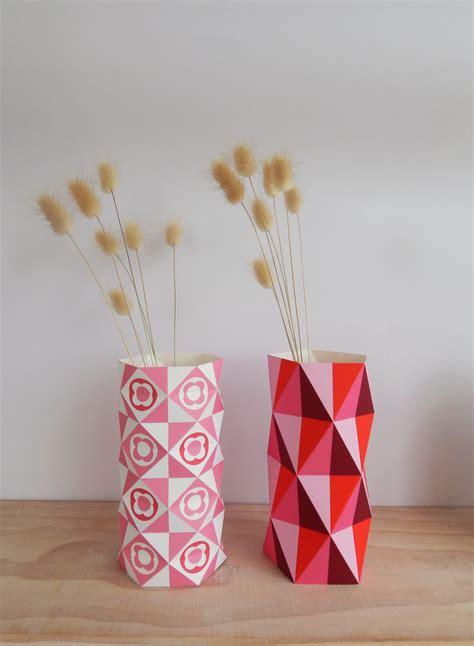 printable paper vase ellen giggenbach printable paper vases