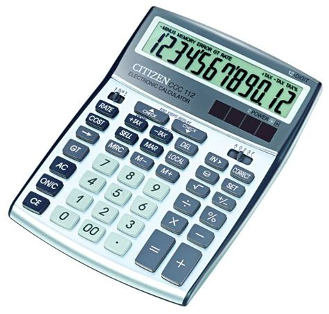 calculator citizen ccc 112 citizen calculator