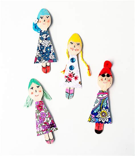 Sendok Teh Doll 8 ways to make wooden dolls handmade