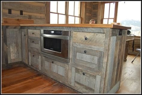 Recycle Kitchen Cabinets Country Kitchen Photos Hgtv Cabinets Made From Barn Wood Home Design Ideas Home