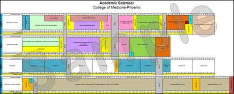 Arizona Academic Calendar Academic Calendar The Of Arizona College Of