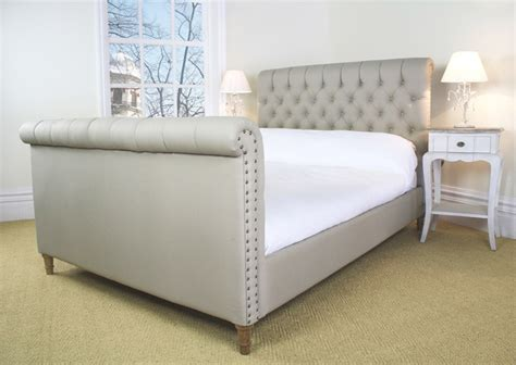 Upholstered Bed Frame Diy Upholstered Sleigh Bed Diy Pictures Reference