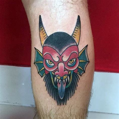 small demon tattoos 50 traditional designs for school ideas