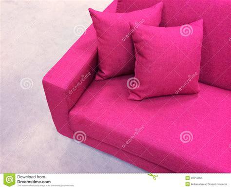bright pink sofa modern pink sofa stock photo image 40710965