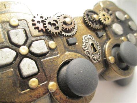 steampunk ps controller  games consoles mini